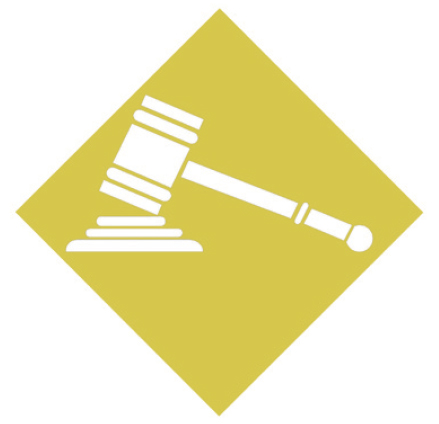Gavel Hitting a Surface