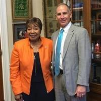 Franco and Rep. Eddie Bernice Johnson